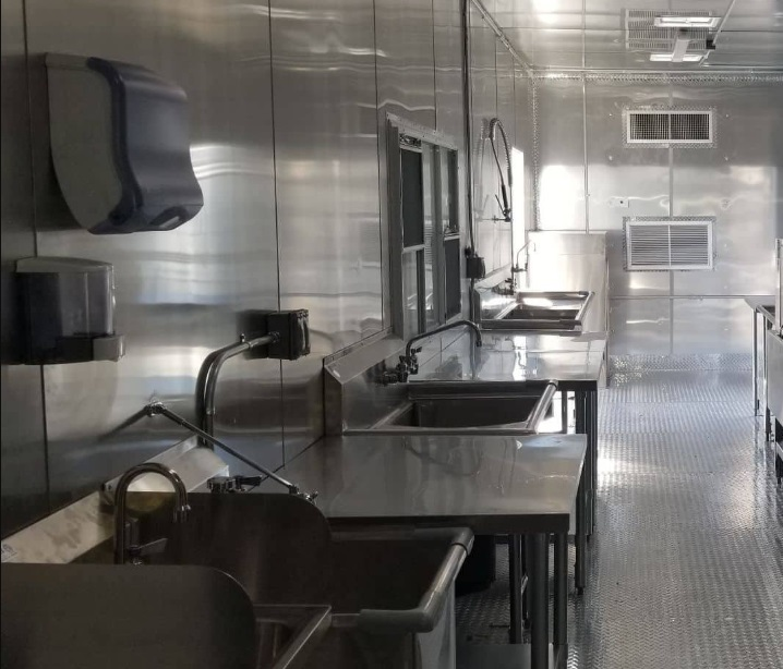 Mobile Dishwashing Trailer for Rent California