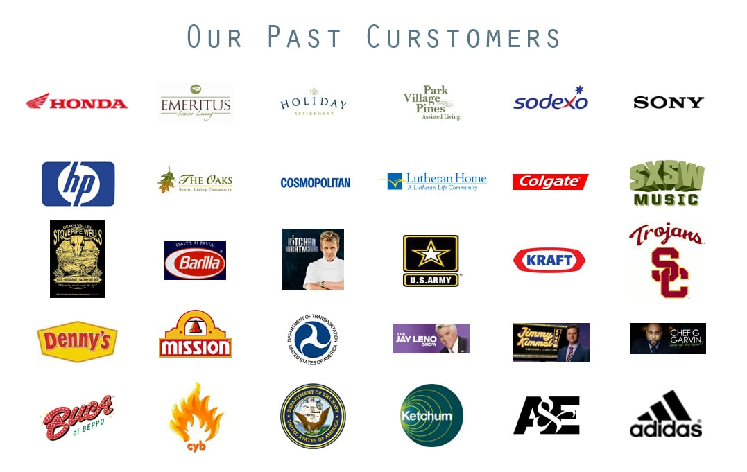 OUR PAST CUSTOMERS